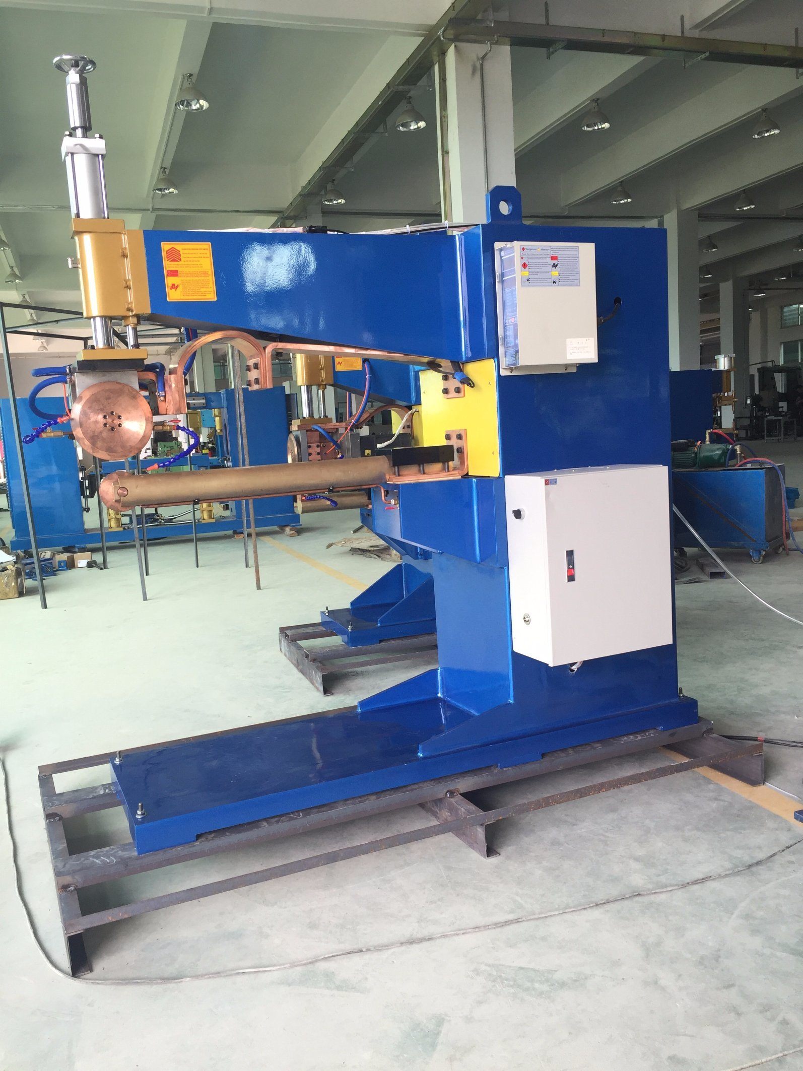 Fn Series AC Rolling Seam Welding Machine with Long Arm