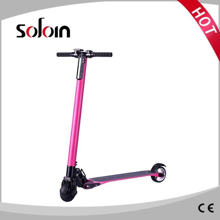 Folding 2 Wheel Carbon Fiber/Aluminum Alloy Self Balance Electric Scooter (SZE250S-6)