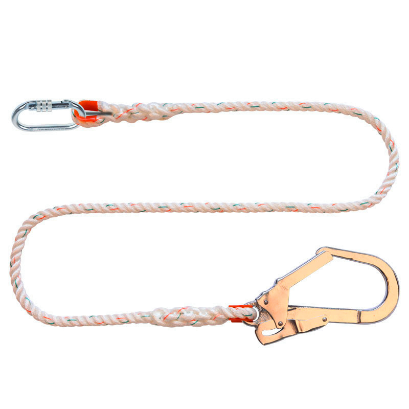 Polyester Safety Lanyard with Buckle