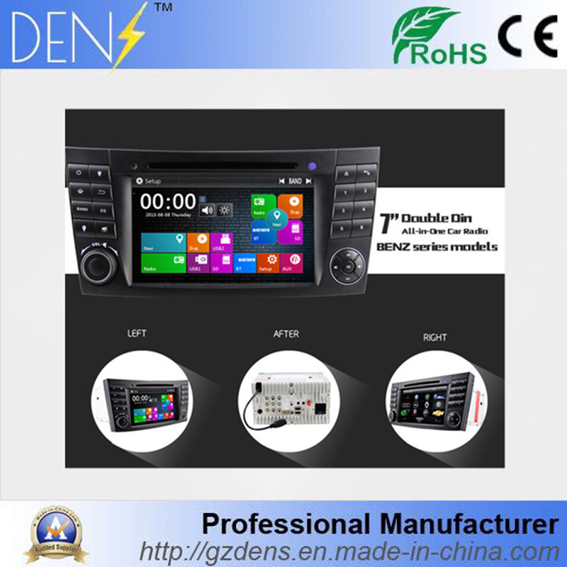 Touch Screen Car DVD Player for Mercedes Benz E Class