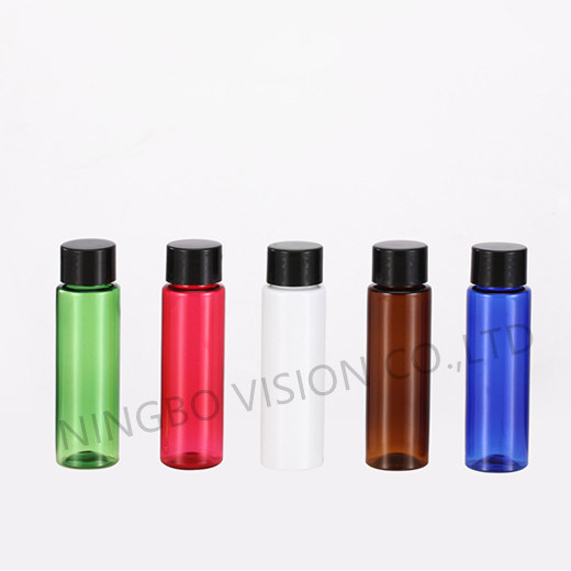30ml Plastic Pet Bottle with SGS Certification -Cylinder Series
