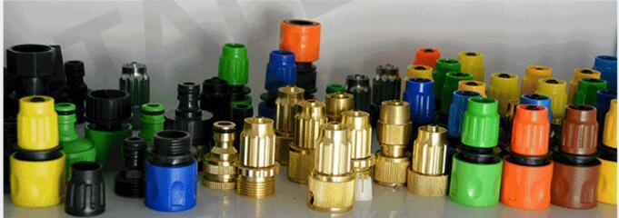 Expandable Garden Hose Brass Connectors