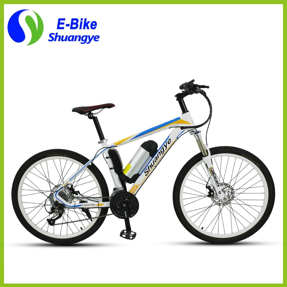 New Design 26 Inch Heterotype Tube Frame Mountain Electric Bike