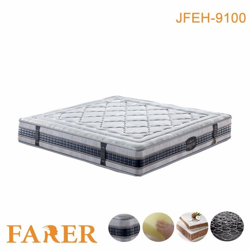 High Density Memory Foam Mattress Rolled Packing