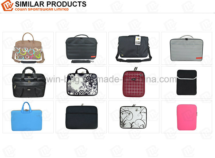 Promotional Simple Designed Fashion Business Shoulder Carry Laptop Tote