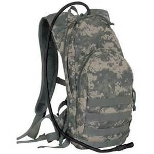 Waterproof Teenage Custom Camping Hydration Canvas Backpack Tactical Luggage Bag