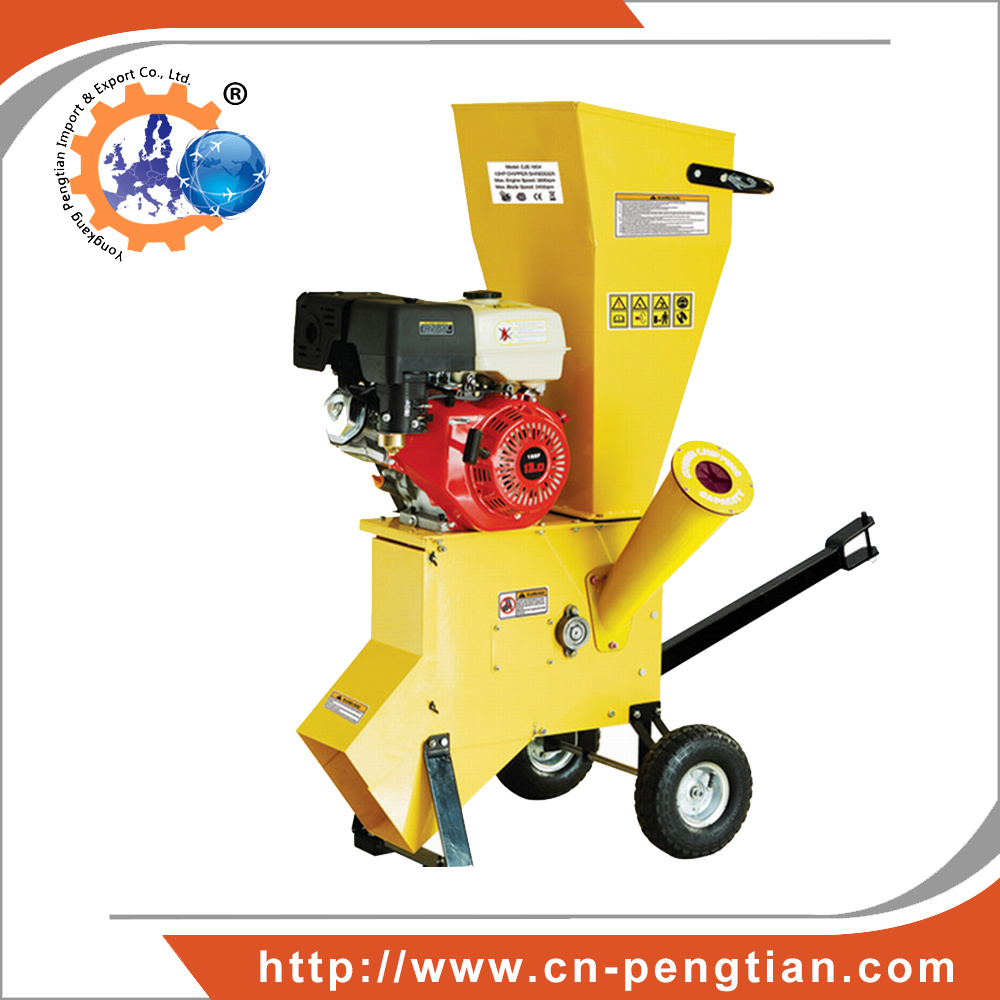 13HP Garden Wood Chipper Shredder with 89mm Chipping Capacity