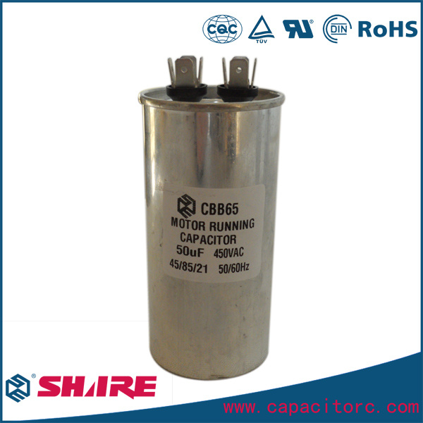Air Conditioner Spare Parts Capacitor 220V 240V 370V 450V 480V Capacitor