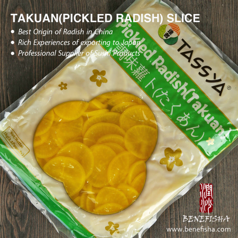 Tassya Japanese Style Pickled Radish (Takuan) Strip