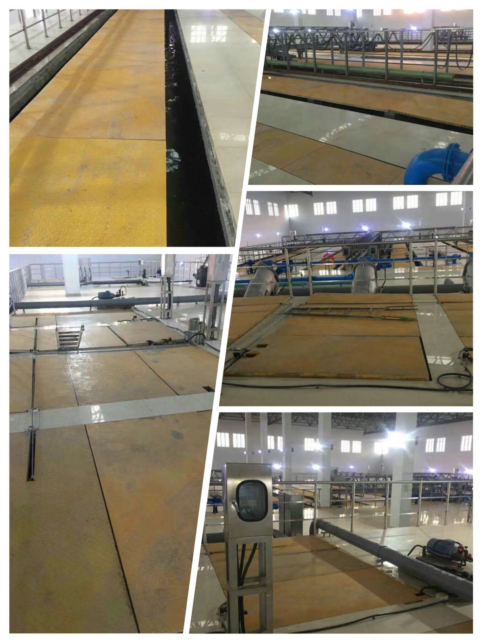 Anti-Slip FRP/Fiberglass Flooring