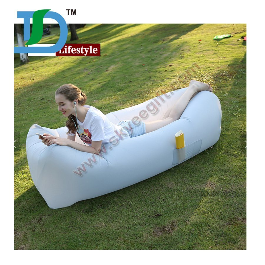 Inflatable Best Selling Air Sofa Lazy Bag for Outdoor Sleeping