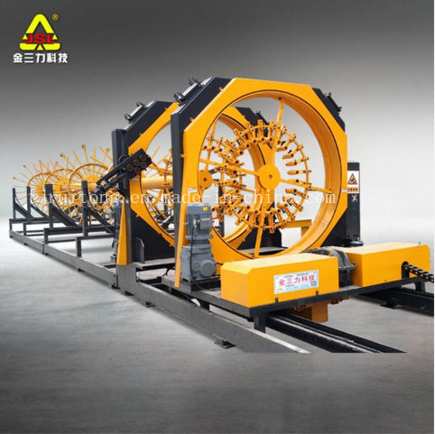 Automatic Rebar Reinforcement Cage Welding Machine