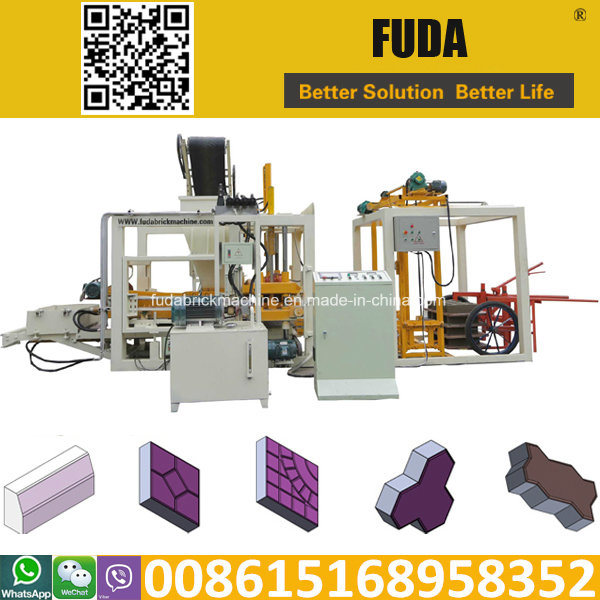 Qt4-18 Widely Used Concrete Block Making Machine for Sale in USA