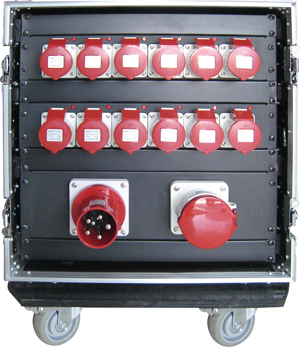 Hoist Motor Electrical Controller in Rack Case