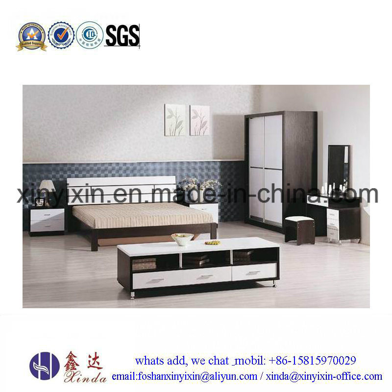 Wooden Bedroom Furniture Simple Single Bed (SH043#)