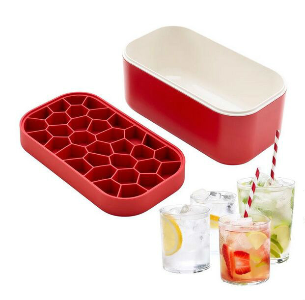 The Plastic Ice Cube Box Cooler Ice Container Cold Insulation Box