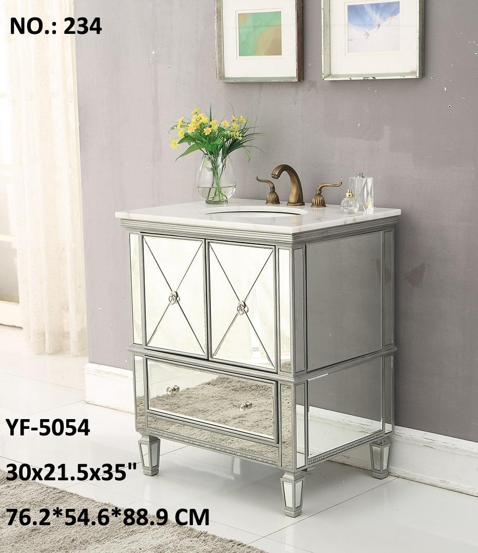New Fashion 3 Drawer /4 Door Cabinet Mirror Furniture