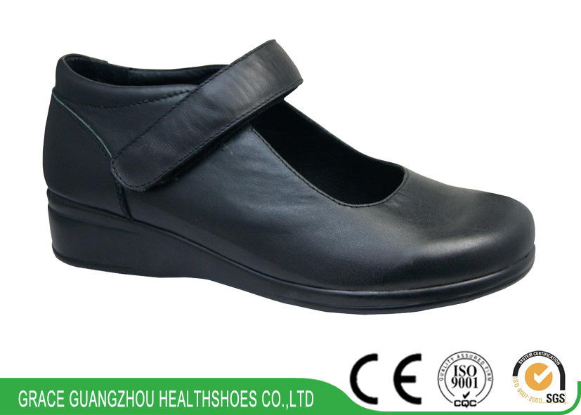 Wide Foot Pain Shoes Leisure Lady Shoes