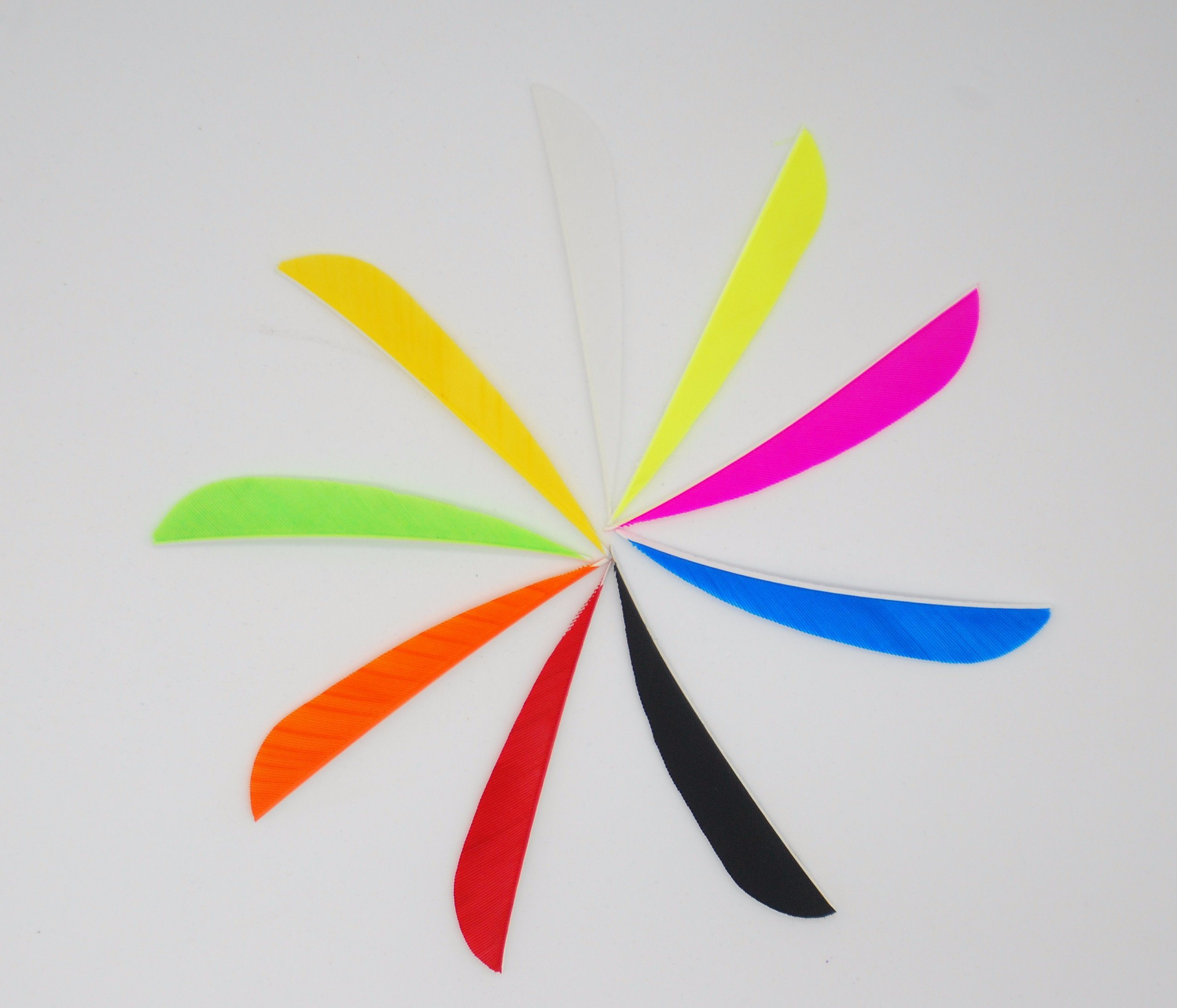 3 Inch Drop Shape Arrow Feather for Shooting