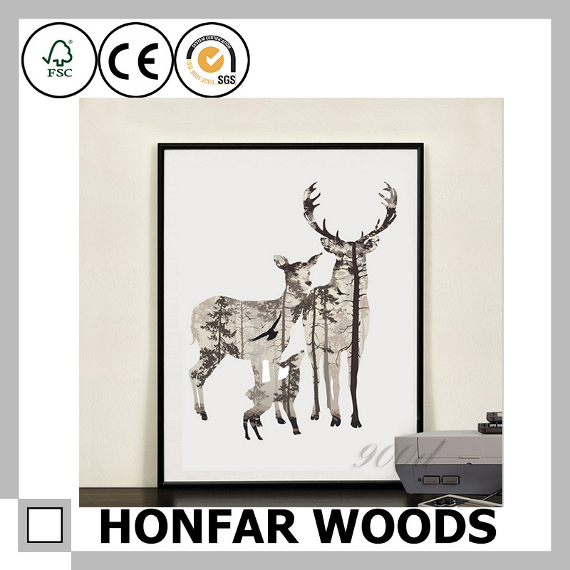 Wall Decoration Big Size Wooden Painting Frame