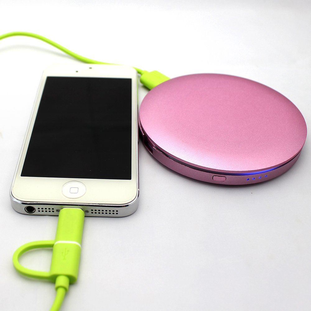 Dazzle colour powdery case power supply 4400mAh GEIAPB-020