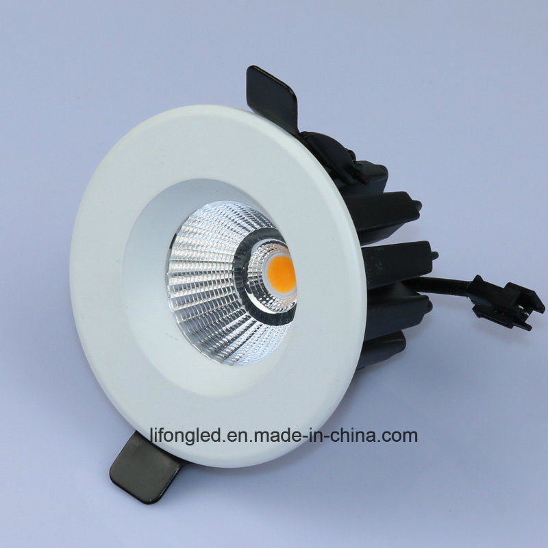 Commercial LED Downlight Rating IP33 Recessed COB Down Light 12W