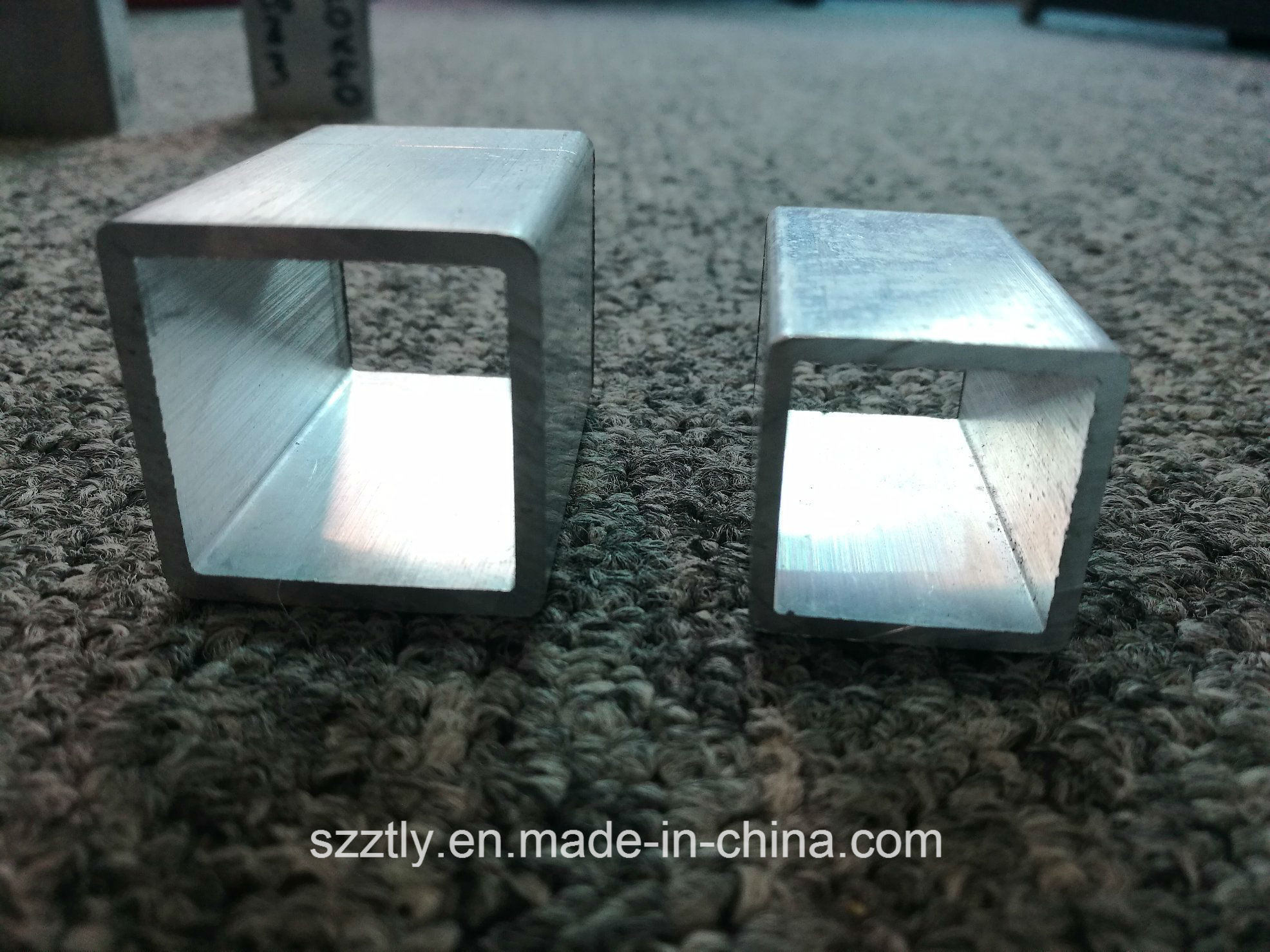6000 Alloy Regular Sizes Aluminum Extruded Square Tube 6X6 ~200X200mm