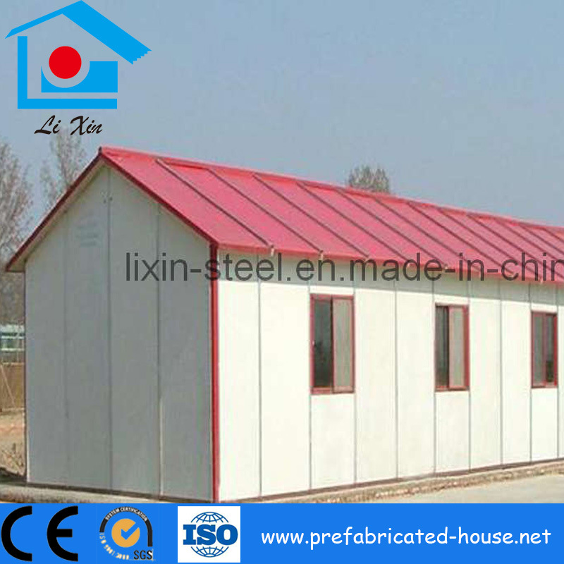 Prefab House as Interim Workers Accommodation
