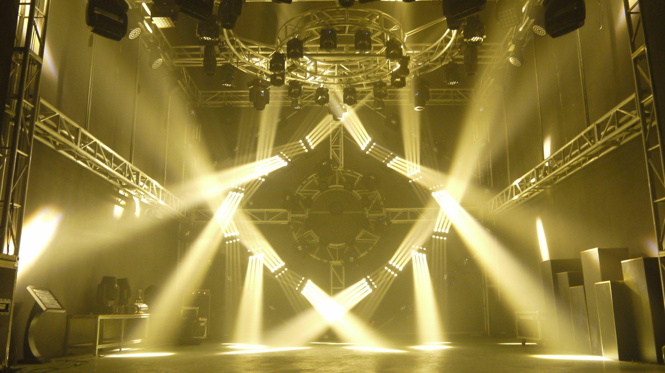 16*25 LED Beam Stage Moving Head Light
