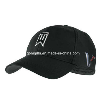 Plain Embroidery Cotton 6 Panel Custom Baseball Cap