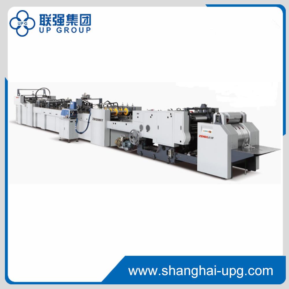 Sheet-Feeding Paper Bag Making Machine (LQ1200CT-430)