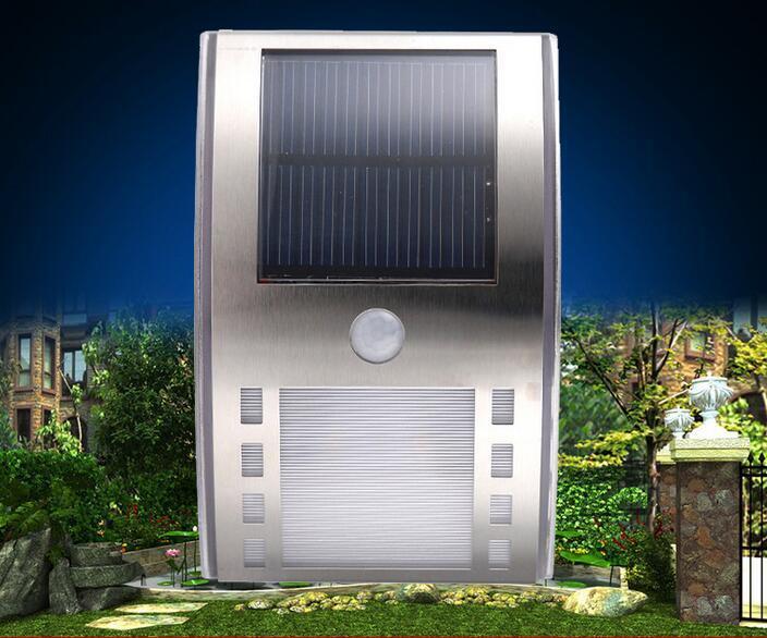 PIR Solar Wall Lamp