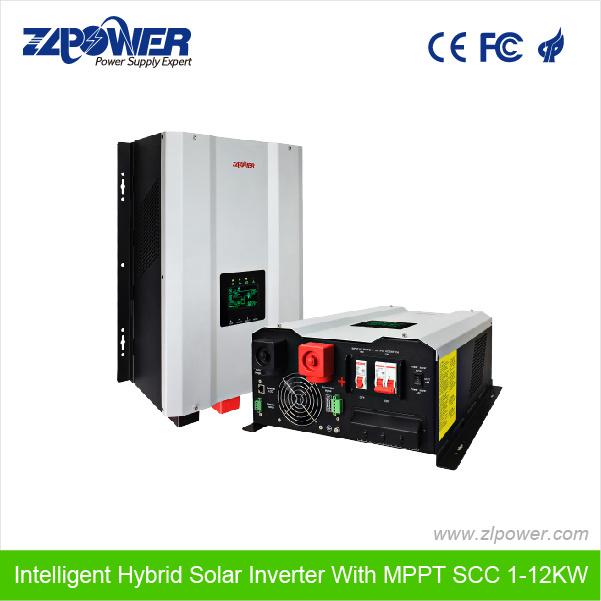 Pure Sine Wave Hybrid Charger Solar Inverter MPPT Scc GS1000W-3000W