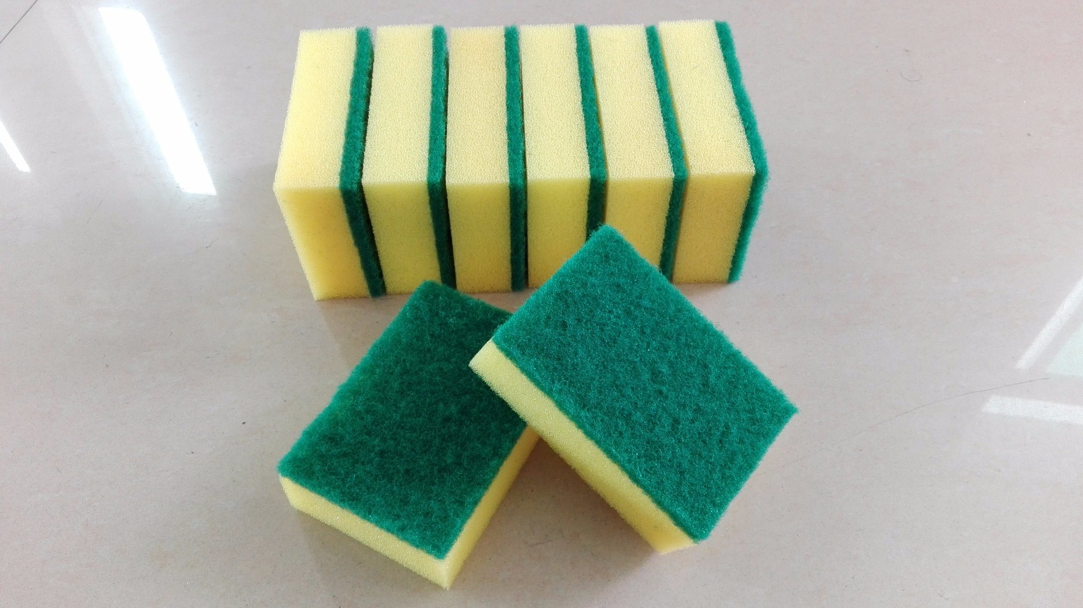 Cheap Price Wholesale Kitchen Cleaning Green Nylon Scrubbing Pad