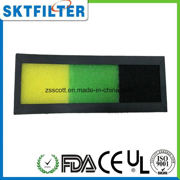 HEPA Filter with Cardboard Frame or Nonwoven Fiber Frame
