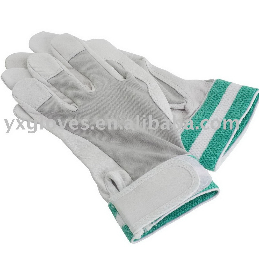 Work Gloves-Garden Glove-Safety Glove-Pig Grain Leather Glove-Labor Glove