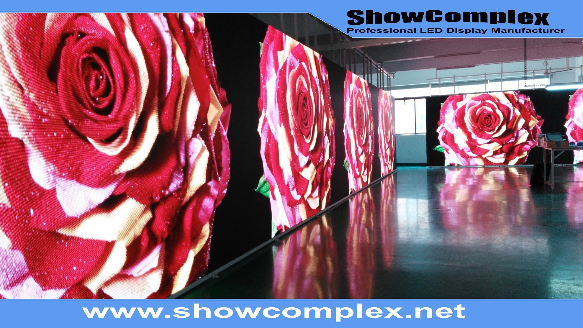 High Refresh Rate of Indoor Full Color Rental LED Panel for Stage (500mm*500mm P3.91)