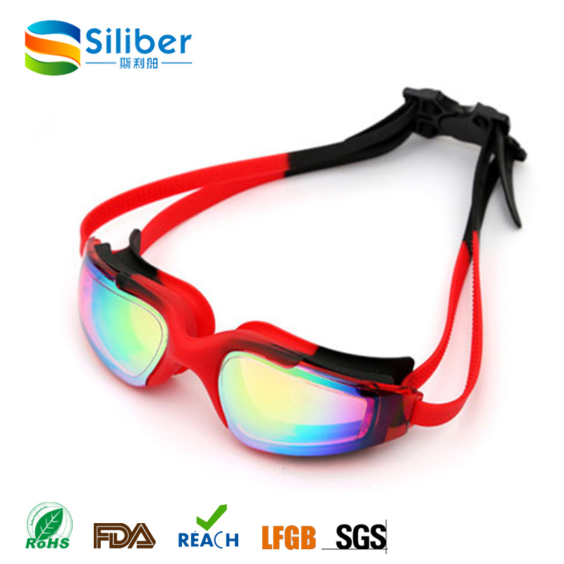 Anti Fog Anti-Shatter UV Protection Swim Goggles for Adults