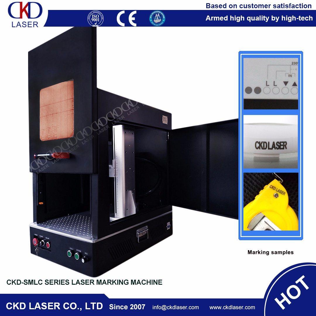 Small Sealing Fiber Laser Marking Machine