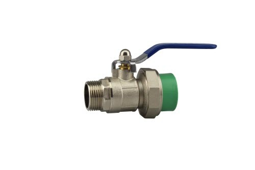 PPR Pipe and Fittings Male Ball Valve (B39)