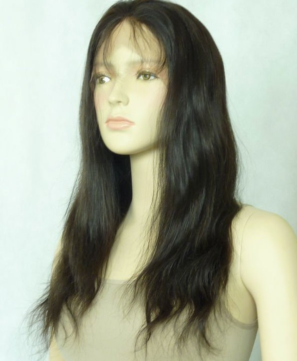 Lace Full Wigs Human Hair 110