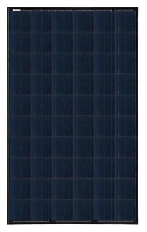 30V 245W Black Poly PV Solar Panel