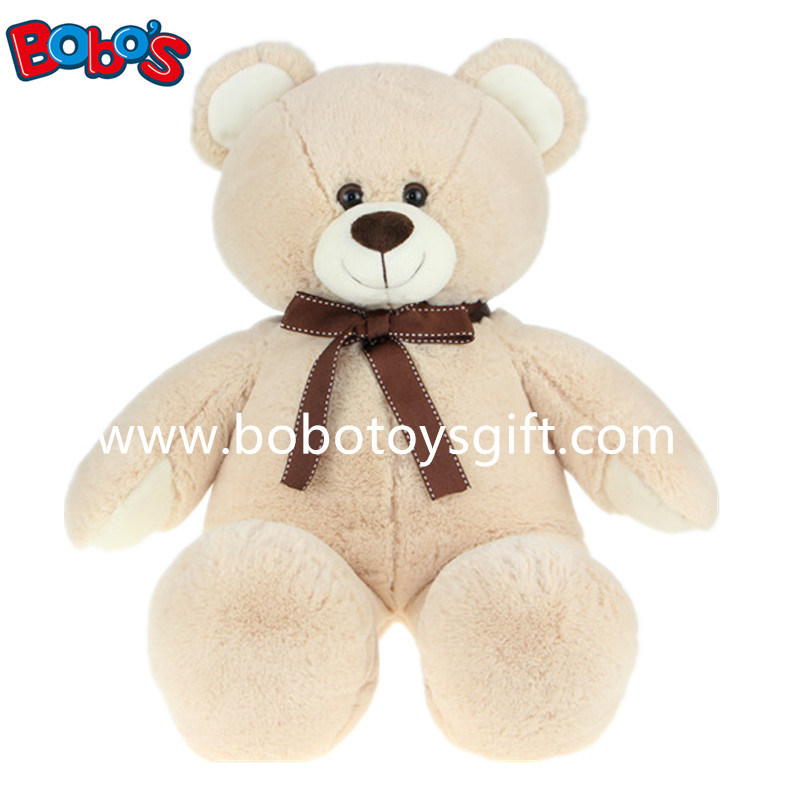 Lovely Beige Plush Teddy Bear Toy with Softest Material