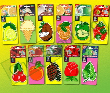 Paper Air Freshener (Assorted Fresh Fruits)