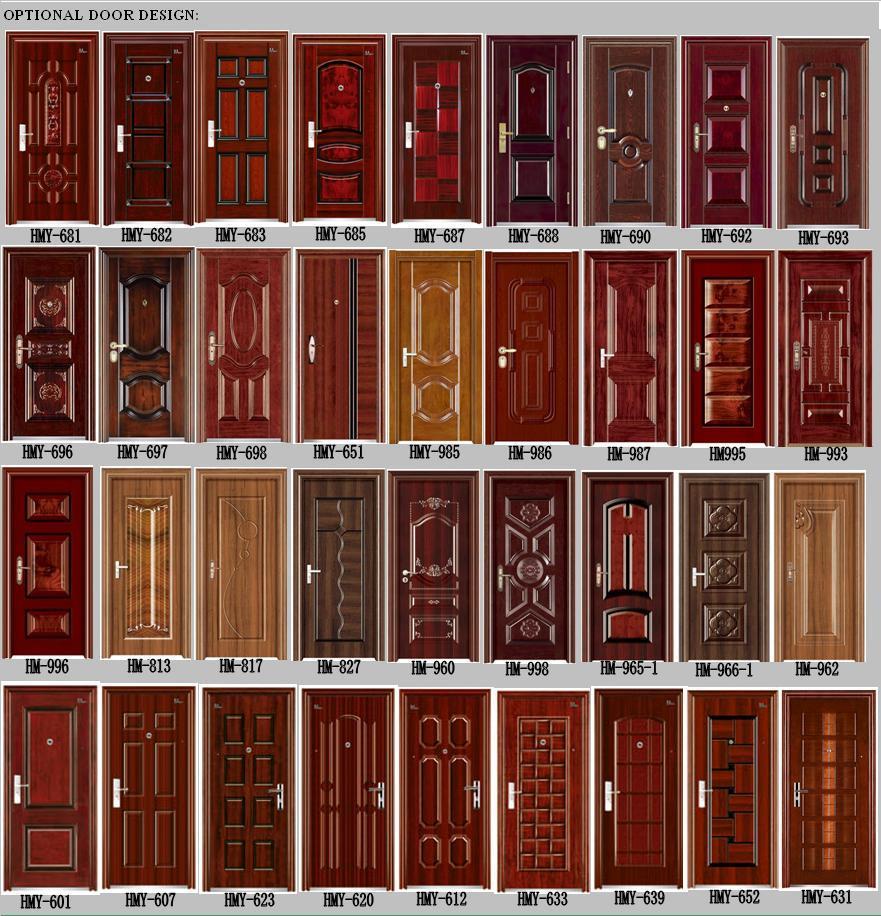 China main door metal door steel door china door for Main door images