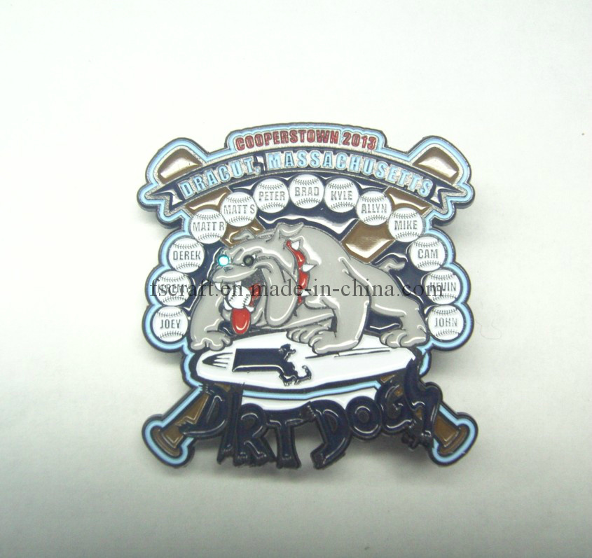 New LED Light Lapel Pin/Badge