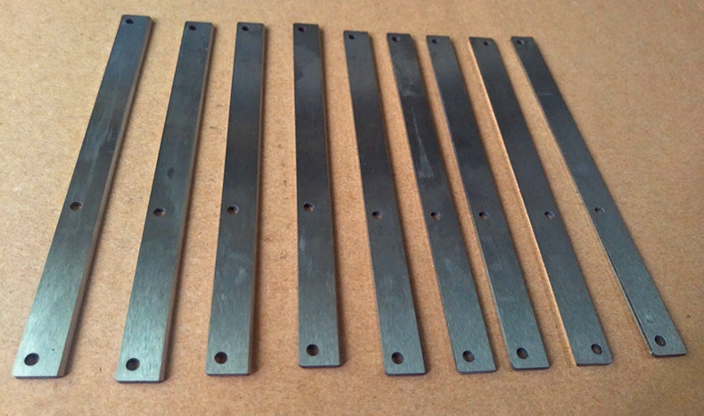 Tool Steel Cutting Blades for Plastic Printing Machiniery