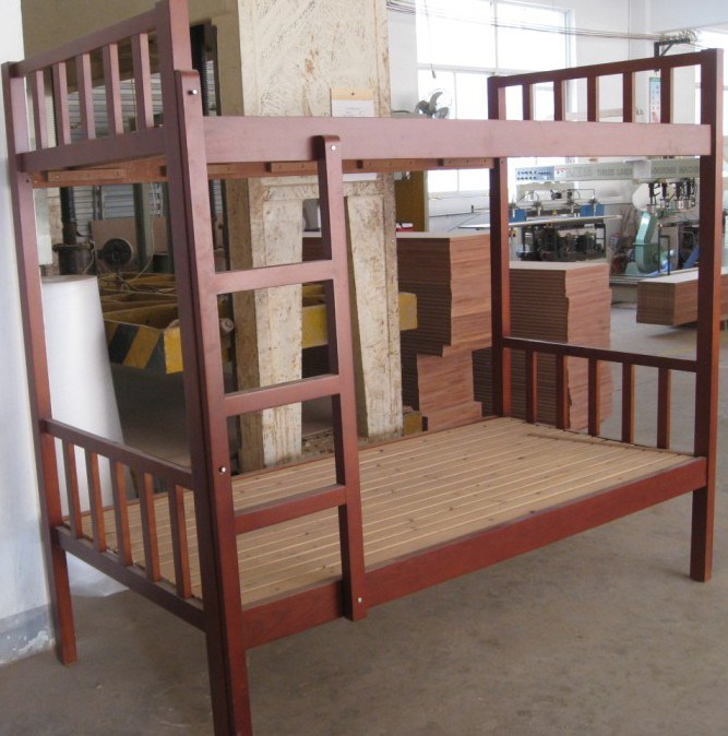 Single Wooden Bunk Bed Frame