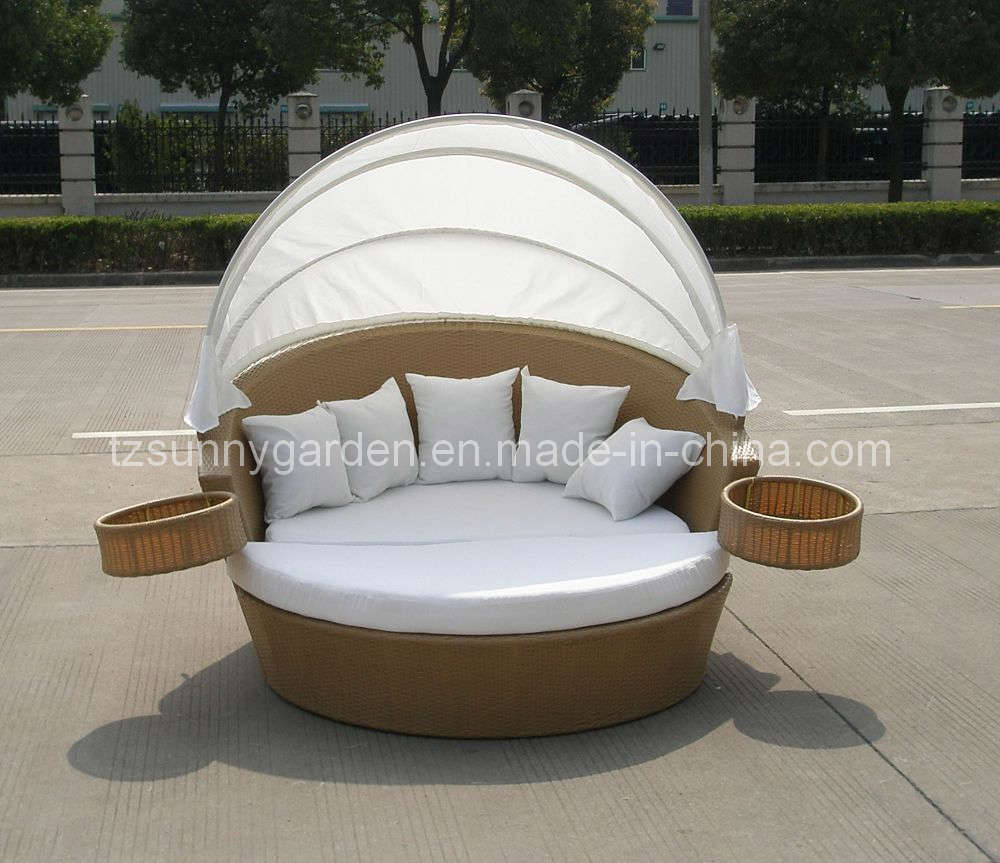 China Outdoor Rattan Sun Bed Sg3003 China Rattan