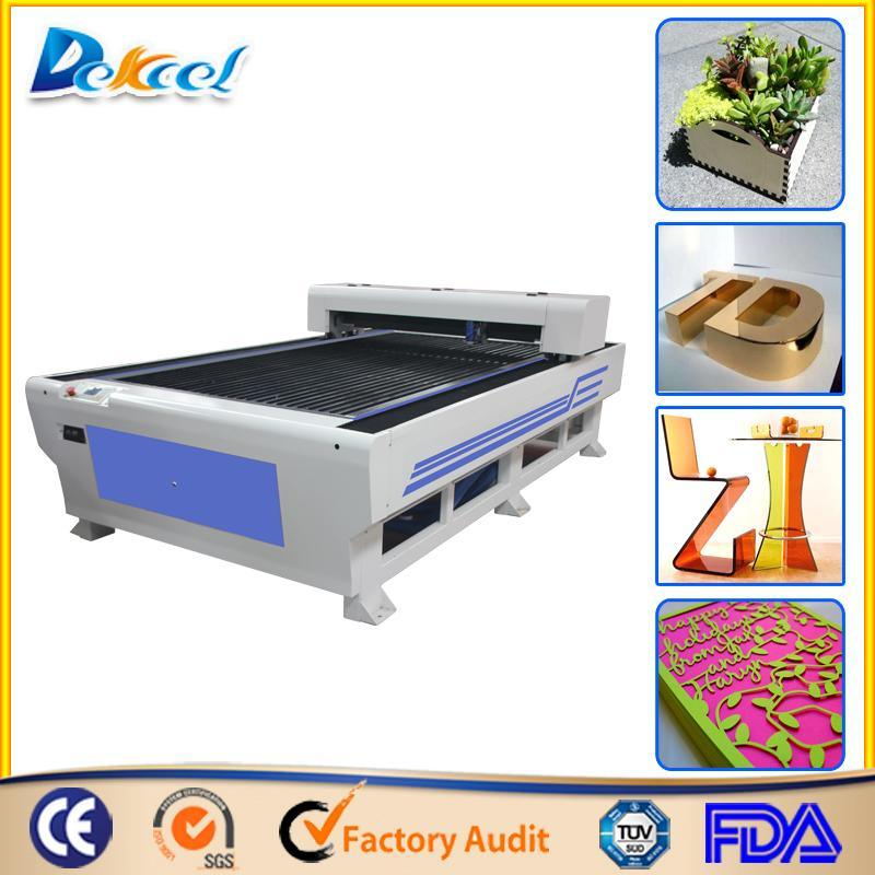 New Type CO2 Metal and Non-Metal Laser Cutting Machine Dek-1325 for Sale